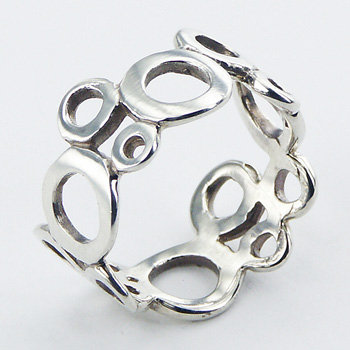R65 Fashionable-Sterling-Silver-Ring