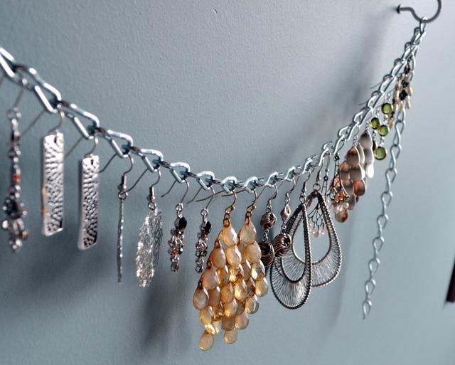 Earring Storage Ideas & Kellyu0027s Stirling - Sterling Silver Jewellery | DIY Dangling Earring ...