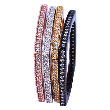 Multi Coloured – Yellow Gold, Rose Gold, Palladium, black palladium plated